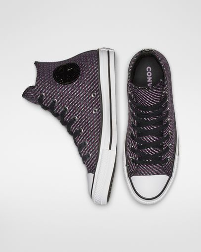 Converse Lunarlon Insole For Sale Chuck Taylor All Star Wonderland High Top Black Icon Violet Cool