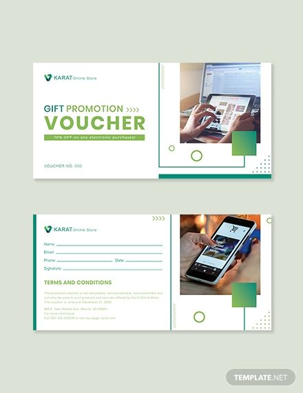Ecommerce Promotion Voucher Template Free Pdf Word Psd Apple Pages Illustrator Publisher Voucher Template Free Ecommerce Voucher
