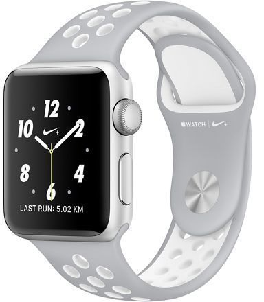 Refurbished Apple Watch Nike Series 2 42mm Silver Aluminum Case With Pure Platinum White Nike Sport Ba Apple Watch Nike Apple Watch Apple Watch Accessories
