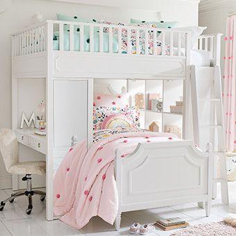 Ava Regency Loft Bed Pottery Barn Kids Au Kids Bedroom Designs