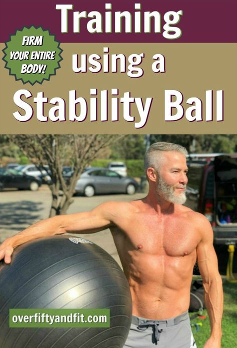 14 Stability Ball Exercise Ideas for a Full-Body Workout