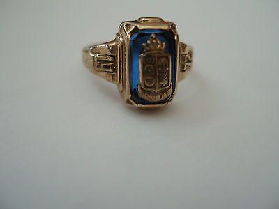 Vintage Class Ring Jostens La s 10K Gold yx by TracyBDesignsAZ