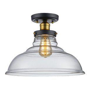 Flush Mounts You Ll Love Wayfair Trans Globe Lighting Semi Flush Mount Lighting Bel Air Lighting