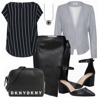MICHALSKY FOR ABOUT YOU Kleid Damen Outfit Komplettes