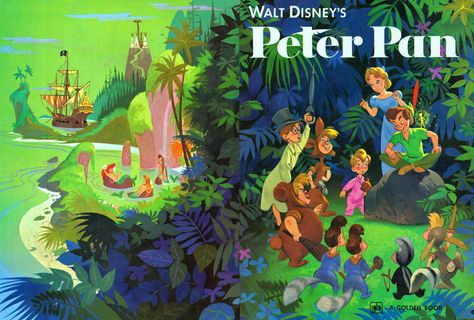 Golden Gems: Walt Disney's Peter Pan - Al Dempster (Illustrator)
