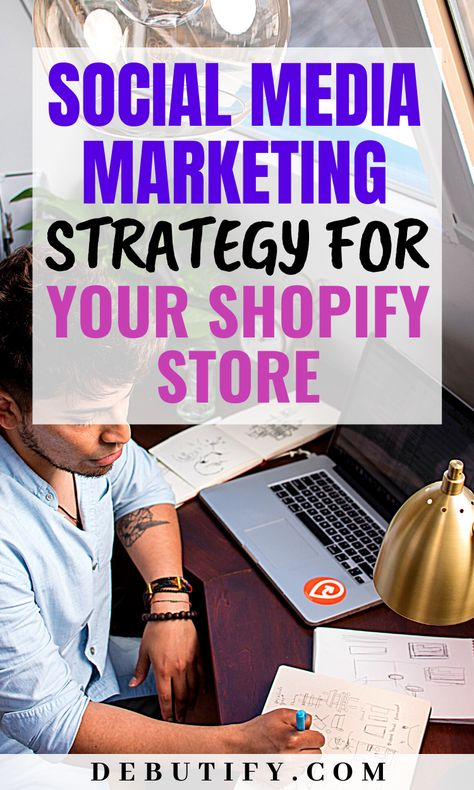 Social Media Marketing Strategy for Your Shopify Store .