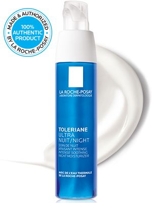 La Roche Posay Toleriane Ultra Night Cream For Sensitive Skin Ulta Beauty Soothing Moisturizer Night Creams Sensitive Skin Cream