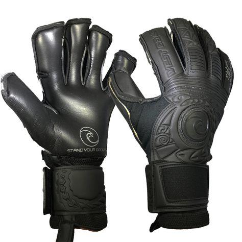 113e53025 West Coast Spyder X Rush Fingersave Goalkeeper Gloves (Grey Green ...