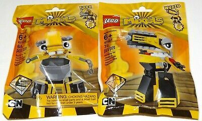 LEGO 41546 FORX Mixels Series 6 WELDOS tribe yellow sealed lot