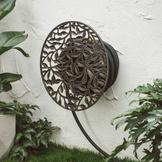 Belham Living Monroe Wall Mounted Hose Holder Black Finish With Images Hose Holder Garden Hose Holder Garden Hose Storage