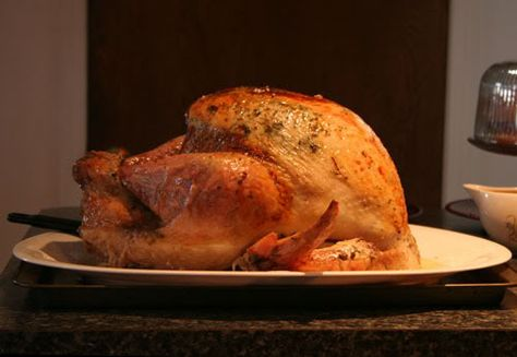 Thanksgiving Turkey Tutorial / Recipe - COOKING -- fall harvest & Thanksgiving, Craftster.org