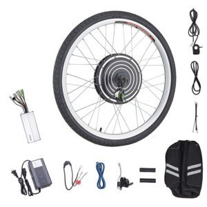 Easy To Convert Diy Front Wheel Ebike Conversion Kit For Bicycle With 0 39 X0 55 Axle And 26 D Cheap Electric Bike Best Electric Bikes Electric Bike Bicycles
