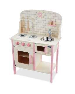 sports shoes c282b 1ea44 Large Pink Wooden Toy Kitchen - ALDI UK | Toys | Toy kitchen ...