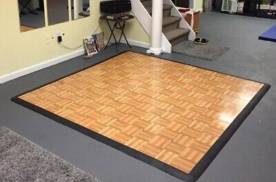 Over 80 Snaplock Portable Dance Floor No Edges Selling By Piece 18x18 Wedding Reception Da In 2020 Portable Dance Floor Portable Dance Floor Diy Tap Dance Flooring