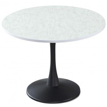 Tables Rondes Salle A Manger Table Cuisine Pas Cher Menzzo