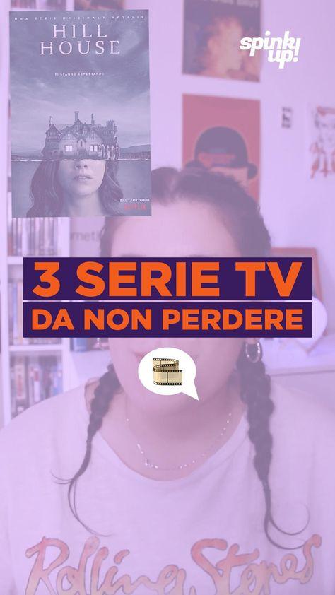 3 SERIE TV DA NON PERDERE