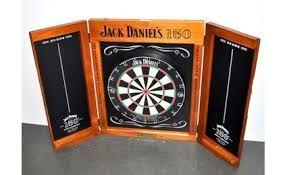 Jack Daniels Dartboard Cabinet Dartscheibe Sets