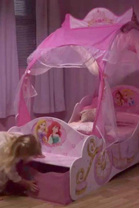 Disney Princess Carriage Toddler Bed Toddler Bed Disney