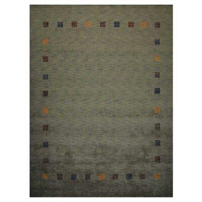 Millwood Pines St Catherine Oriental Handmade Wool Green Area Rug Area Rugs Green Area Rugs Rugs