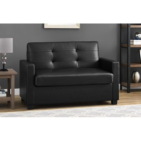 Fine Mainstays Sleeper Loveseat With Memory Foam Mattress Andrewgaddart Wooden Chair Designs For Living Room Andrewgaddartcom