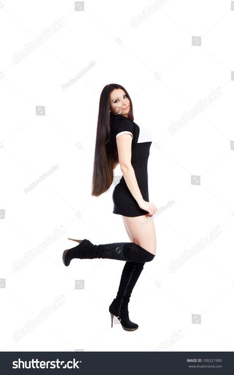 Sexy Girl Gun Stock Photo (Edit Now) 146467421