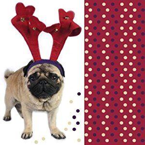 Pug Christmas Napkin Pack Available At Www Ilovepugs Co Uk Post Worldwide Christmas Napkins Pug Christmas Christmas Tableware