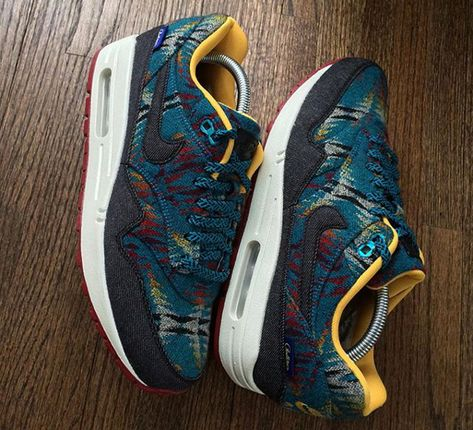 separation shoes 42975 74ff8 Nike Air Max 1 Pendleton Warm and Dry -  regularolty