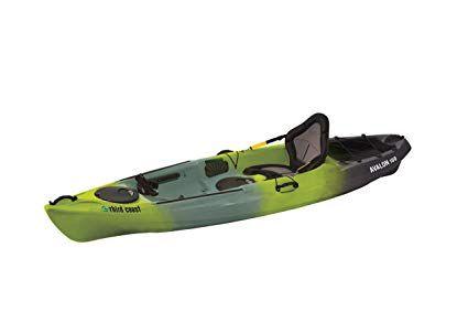 Third Coast Avalon 100 Sit On Angler Kayak Citron Black