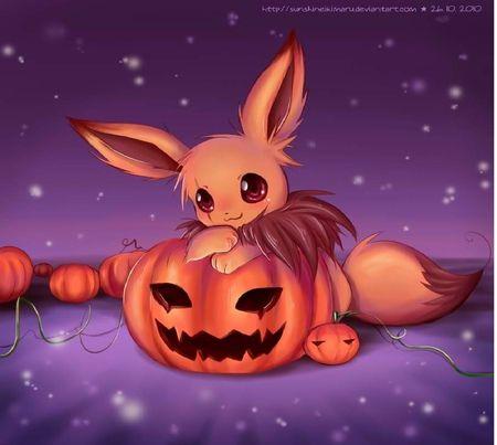 evee halloween | Halloween | Pinterest | Anime halloween, Pokémon ...