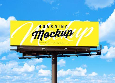 Free Outdoor Advertisement Billboard Mockup PSD - Good Mockups