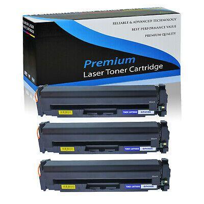 3pk Cf410x Black Toner Cartridge For Hp Color Laserjet Pro M452dw M477fnw M377dw Ebay In 2020 Laser Toner Toner Toner Cartridge
