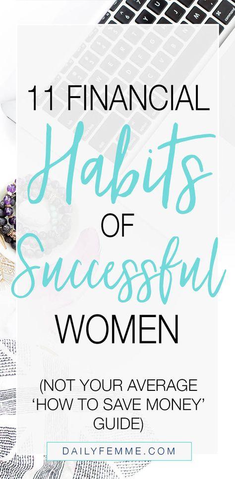 11 Financial Habits of Successful Women