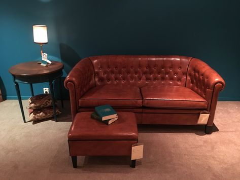 Leren Chesterfield Bank.Smellink Collection Klassiek Interieur Chesterfield Bank En
