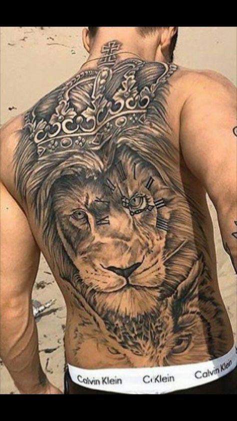 Pin De Luis Bulnes Em Diseños De Tattoos Tatuagem Leão Nas