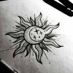 Deviantart More Like Sun And Moon By Catherinemonk Sole E Luna