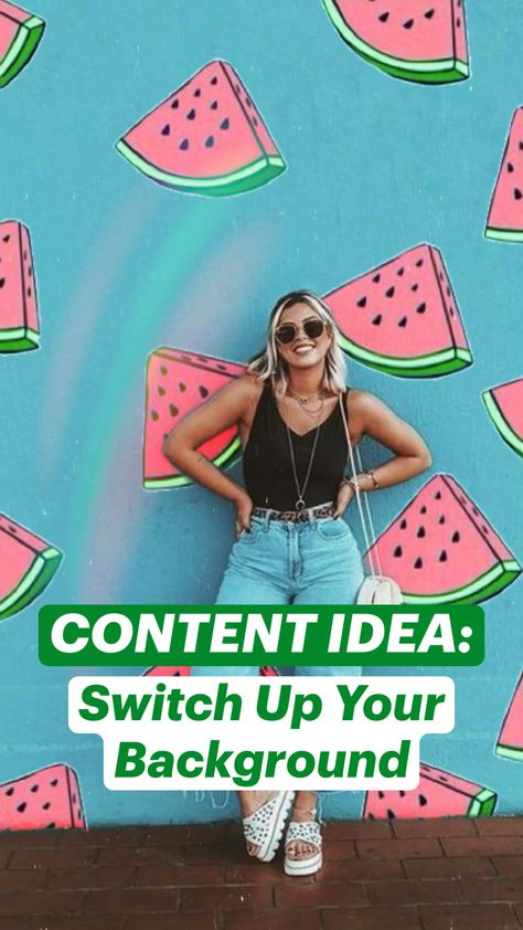 Spring/Summer Content Idea:💡Change Your Background ✨