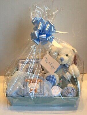 Baby Boy Gift Basket Baby Hamper Baby Shower Gift New Born Baby Boy Blue Ebay In 2020 Baby Boy Gift Baskets Diy Baby Shower Gifts Baby Boy Gifts