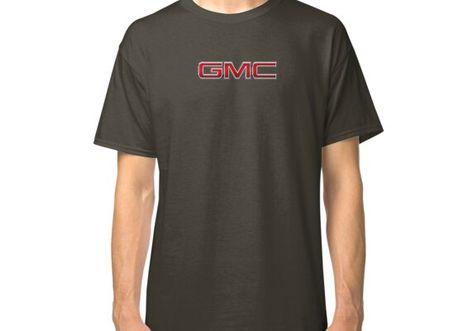 Gm Gmc Logo Classic T Shirt Shirts Classic T Shirts T Shirt
