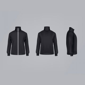 Download Sport Jacket Or Long Sleeve Sweatshirt Vector Illustration 3d Mo Apparel Jacket Sweatshirt Png And Vector With Transparent Background For Free Download Long Sleeve Sweatshirts Sports Jacket Long Sleeve