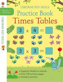 Times Tables Practice Book 6 7 New In January 2020 Times Tables Practice Times Tables Skills Practice
