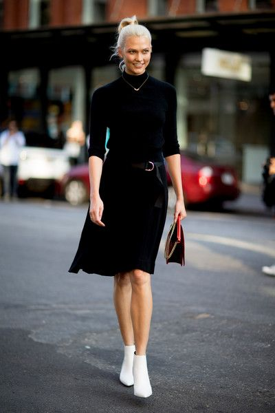 Black & White - 60 Creative Outfit Ideas From New York Fashion Week - Photos