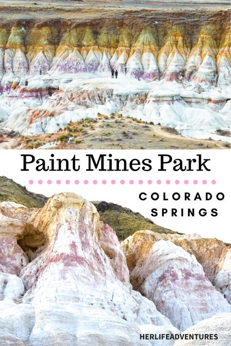 The Paint Mines Interpretive park is Colorado's hidden gem. The park is located just outside of Colorado Springs. Filled with rainbow hoo doos & spire formations you must visit this park to see the bright colors for yourself. Types Of Photography, Landscape Photography, Travel Photography, Snowshoe, Rafting, Oh The Places You'll Go, Places To Travel, Travel Destinations, Denver