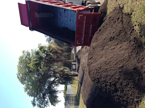 Delivering 15 Loads Of Topsoil To Re Sod A Apartment Complex In New Port Richey T Top Soil Fill Dirt House Styles