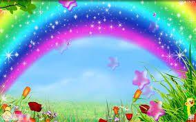 Image Result For Gambar Pelangi Bergerak Sparkly Background Love Rainbow Rainbow Colors