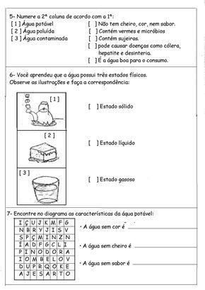 50 Atividades Do Dia Da Agua Para Imprimir Educacao Infantil