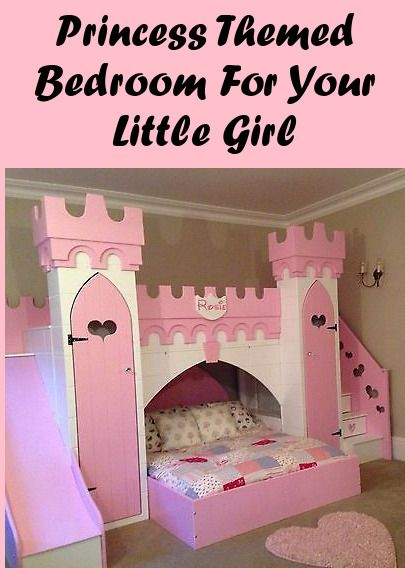Pin On Princess Castle Bed