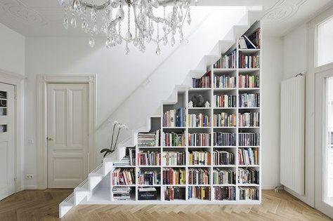 Un Escalier Bibliothèque 12 Idées Folles Pour Transformer