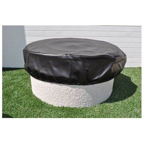 This Round Fire Pit Cover From Fireplace Doors Online Has Got You Covered When It Comes To Keeping Your Favorite O Fire Pit Cover Fire Pit Round Fire Pit Cover