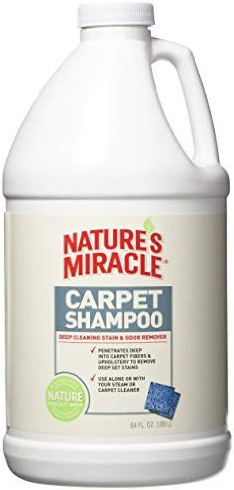 Nature's Miracle Deep Cleaning Pet Stain and Odor Carpet Shampoo Price: $4.98 #DogsTreats>>#CatsTreats>>>#DogsCollars#CatsCollars#Pets