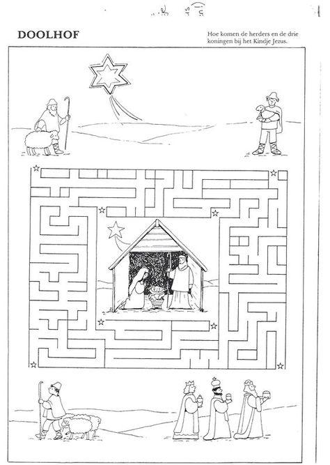 Játékos tanulás és kreativitás: Adventi tevékenységek 13.: Karácsonyi labirintusok
